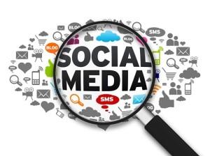 Social media graphics.